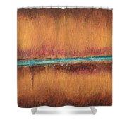 Blue Tear Shower Curtain