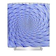 Blue Tip Whirlpool Shower Curtain