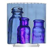 Blue Trio Shower Curtain