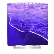 Blue Wash Shower Curtain