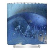 Blue Wave 1 Shower Curtain