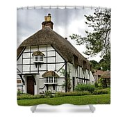 Bluebell Cottage Shower Curtain