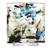 Bluebells #2 Shower Curtain
