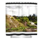 Blueberry Hill Shower Curtain