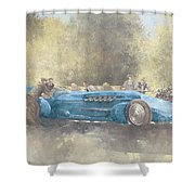 Bluebird And Ghost Shower Curtain