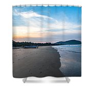 Blued Beauty Shower Curtain