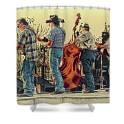 Bluegrass Evening Shower Curtain