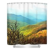 Blueridge - Spring Shower Curtain