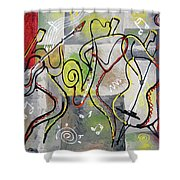 Blues And Rock Shower Curtain