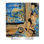 Blues Dues Shower Curtain