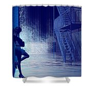 Blues In The Night Shower Curtain