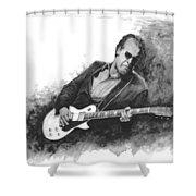 Blues Man Joe B. Shower Curtain