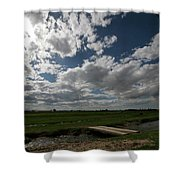 Bluesky Shower Curtain