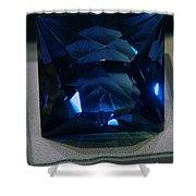 Bluetiful Fluorite Shower Curtain