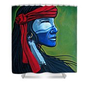 Bluface Shower Curtain