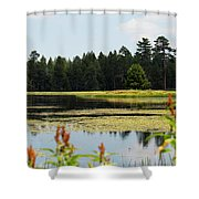 Bluff Lake Ca Wild Flowers 12 Shower Curtain
