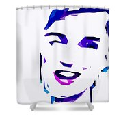 Blur Girl 13 Shower Curtain