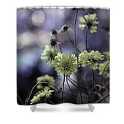 A Meadow's Blur Of Nature Shower Curtain