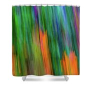 Blurred #2 Shower Curtain