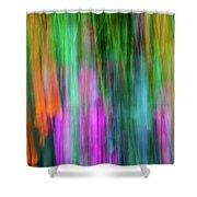 Blurred #3 Shower Curtain