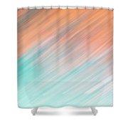 Blurred #8 Shower Curtain