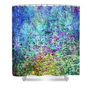Blurred Garden 4798 Idp_2 Shower Curtain