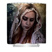 Blushing Bride Shower Curtain