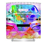 Bmw 3 Gran Turismo Shower Curtain