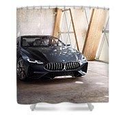 Bmw Concept 8 Series 4k Shower Curtain