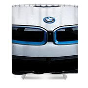 Bmw E Drive I8 Shower Curtain by Aaron Berg
