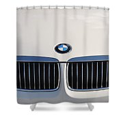 Bmw Grille White Shower Curtain