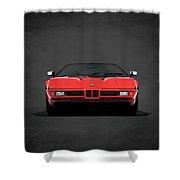 Bmw M1 1979 Shower Curtain