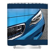 Bmw M2 Grille Shower Curtain
