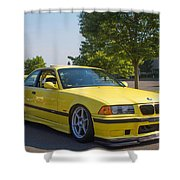Bmw M3  Shower Curtain