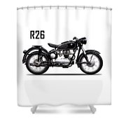 The R26 Motorcycle Shower Curtain