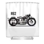 The R62 Motorcycle Shower Curtain