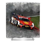 B M W Racing Shower Curtain