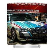 Bmw Z4 E86 Art Car Shower Curtain