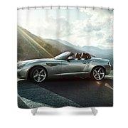 Bmw Zagato Roadster Shower Curtain