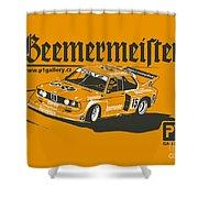 Bmw320 Gr5 Racing Shower Curtain