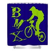 BMX Shower Curtain