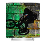 Bmx II Shower Curtain