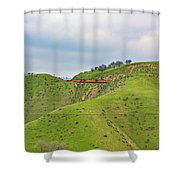 Bnsf7492 2 Shower Curtain