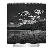 Bnw Lago De Coatepeque - El Salvador V Shower Curtain
