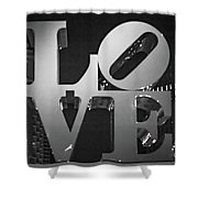 Bnw Philly Love 0218b Shower Curtain