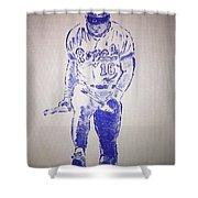 Bo Jackson Shower Curtain