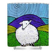 Bo Peeps Lost Sheep Shower Curtain
