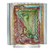 Boa Box Shower Curtain