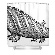 Boar Whale Shower Curtain