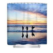 Board Meeting Shower Curtain